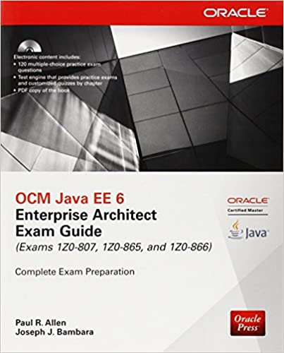 oracle certified enterprise architect study guide