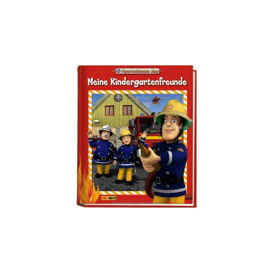 Feuerwehrmann Sam Kindergartenfreundebuch Meine Kindergartenfreunde