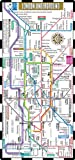 Streetwise London Underground Map - The Tube - Laminated London Metro Map - Folding pocket & wallet size metro map for travel