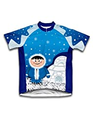 Polar Ice Man Short Sleeve Cycling Jersey for Women