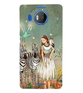 EPICCASE fairy tale Mobile Back Case Cover For Microsoft Lumia 950 XL (Designer Case)