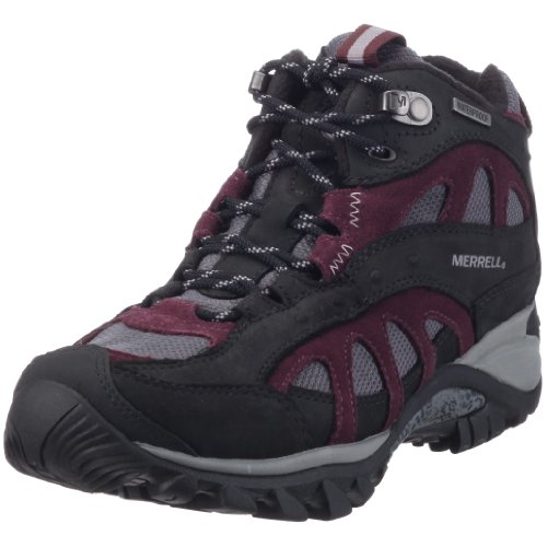 Merrell Siren Song Polar Mid Women's Boot Purple (BLACK/HUCKLEBERRY) UK 9