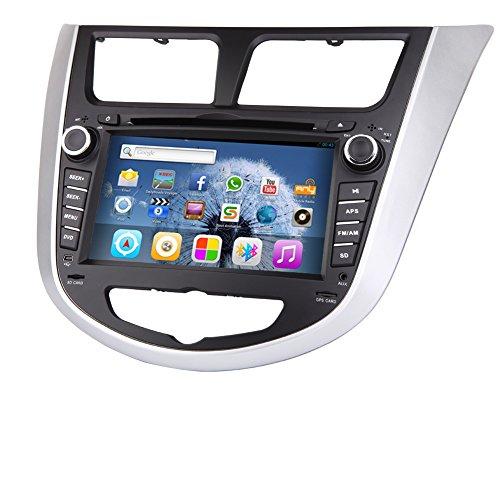 6.2-Zoll-Doppel-DIN GPS Navigation f¨¹r Verna (2010 bis 2015) Auto-DVD-Spieler in des Schlag-Video Audio Autoradio Autoradio PC Bluetooth iPod + Kostenloses W-R¨¹ckseiten-Kamera