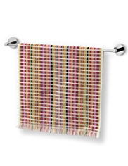 Boho Fine Checked Towel