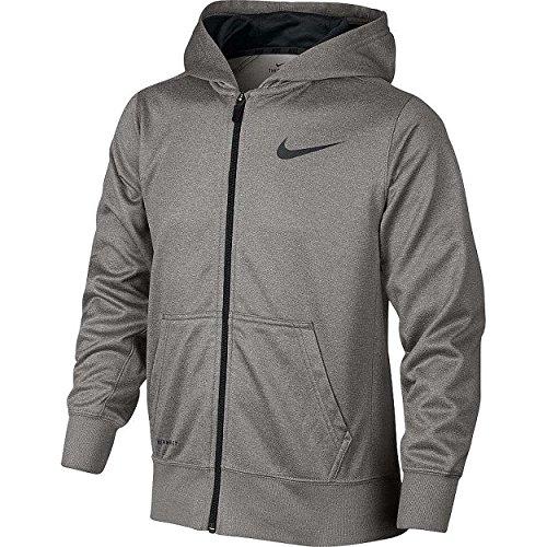 Boys 8-20 Nike KO Therma-FIT Full-Zip Hoodie - Dark Grey Anthracite (Small) (Nike Ko Full Zip Hoodie compare prices)