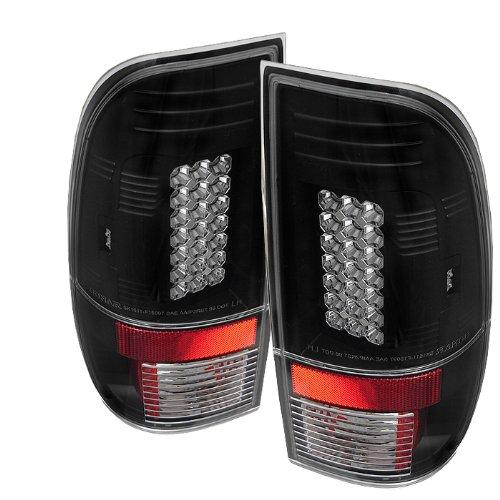 Spyder Ford F150 Styleside 97-03 / F250/350/450/550 Super Duty 99-07 Led Tail Lights - Black