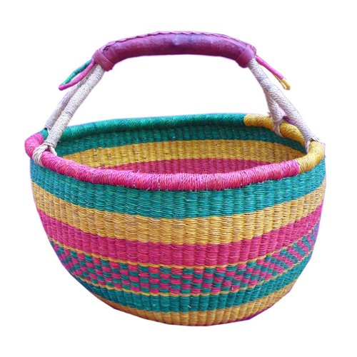 Basket Weaving Supply Companies : African hand woven river grass basket large