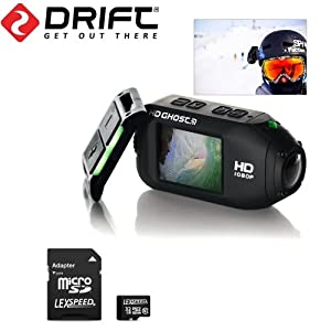 Drift HD GHOST Wi-Fi Full 1080p Wearable Action Camera with Built-In 2