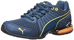 PUMA Cell Kilter JR Sneaker (Little Kid/Big Kid) , Blue Wing Teal/Blue, 5.5 M US Big Kid