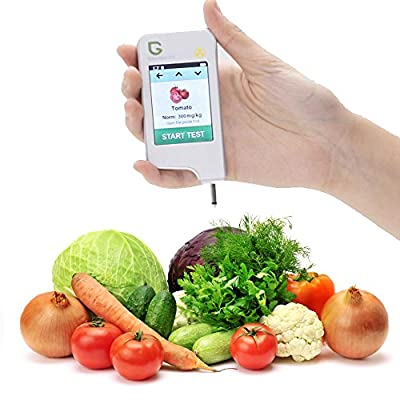 Greentest, High Accuracy Food Detector, Nitrate Tester for Fruit and Vegetable