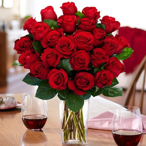 Same Day Flower Delivery of Dozen Red Roses | Country Flowers Delivery – Birthday Flowers – Wedding Flowers – Cheap Flowers – International Flower
