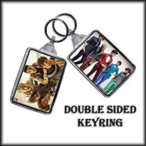 One Direction Double Sided Key Ring - 002 from ONE DIRECTION