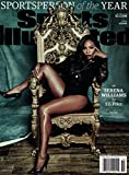Sports Illustrated December 21, 2015 Serena Williams Sportsperson of the Year