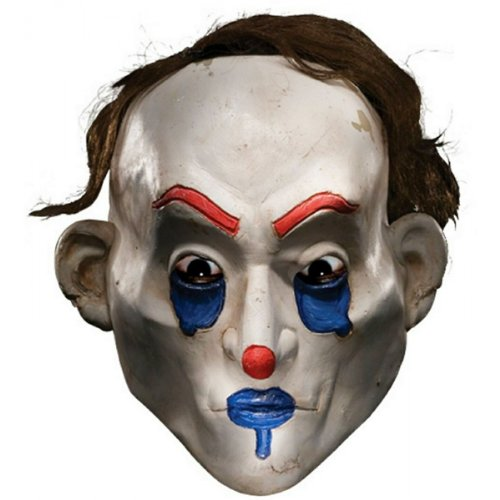 Happy Clown Mask Costume Accessory