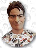Charlie Sheen Adult Mask, Multicolored, One Size