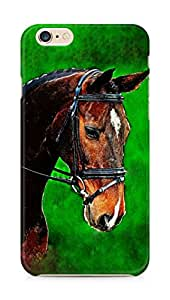 Amez designer printed 3d premium high quality back case cover for Apple iPhone 6s Plus (Painting Horse)