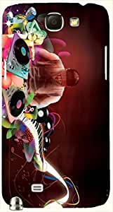 Great multicolor printed protective REBEL mobile back cover for Samsung Galaxy Note II N7100 D.No.N-L-14325-N2
