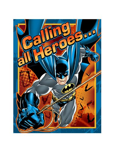 Batman Invitations (8-pack) - 1