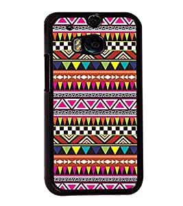 printtech Ethnic Pattern Back Case Cover for HTC One M8::HTC M8