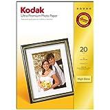 Kodak Ultra Premium Photo Paper, High-Gloss, A4, 210 x 297 mm, 20 Sheets