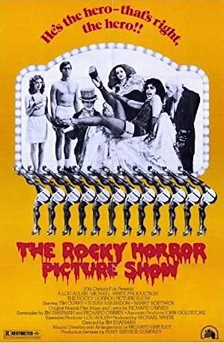 The Rocky Horror Picture Show 1975 36x24 Movie Art Print Poster Tim Curry Musical (Classic Movie Pictures compare prices)