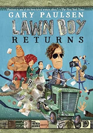 book cover of Lawn Boy Returns