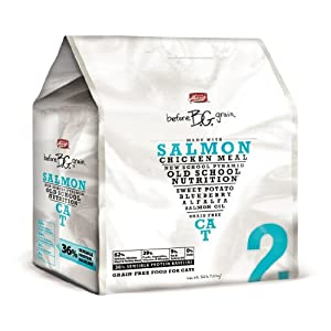 Merrick Before Grain #2 Salmon Dry Cat Food, 1-Pound Bag
