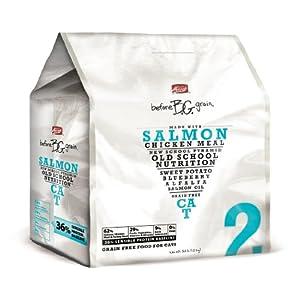 Merrick Before Grain #2 Salmon Dry Cat Food, 1-Pound Bag
