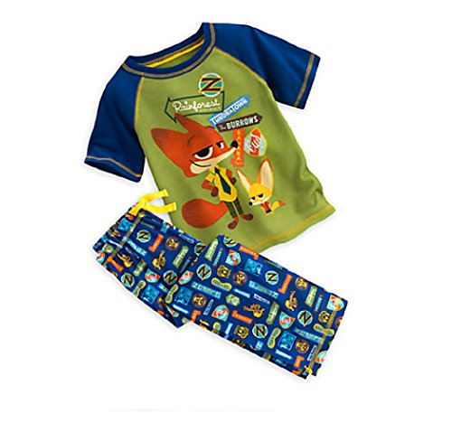Zootopia 2 Piece Sleep Set for Boys (5/6)
