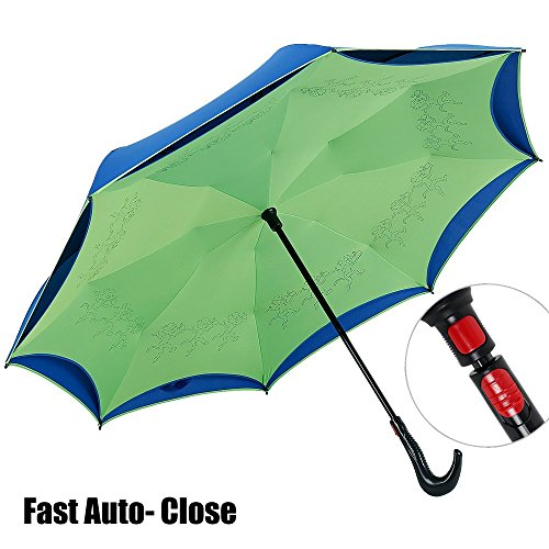 newbrellas-creative-inside-out-self-standing-auto-close-inverted-car-umbrella-green