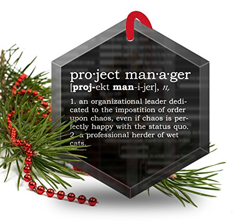 project-manager-definition-funny-glass-christmas-ornament