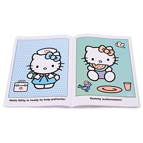 Sanrio 18261 Hello Kitty Paint with Water Book Rainbow
