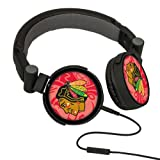 NHL Chicago Blackhawks Oversized Logo Headphones at Amazon.com