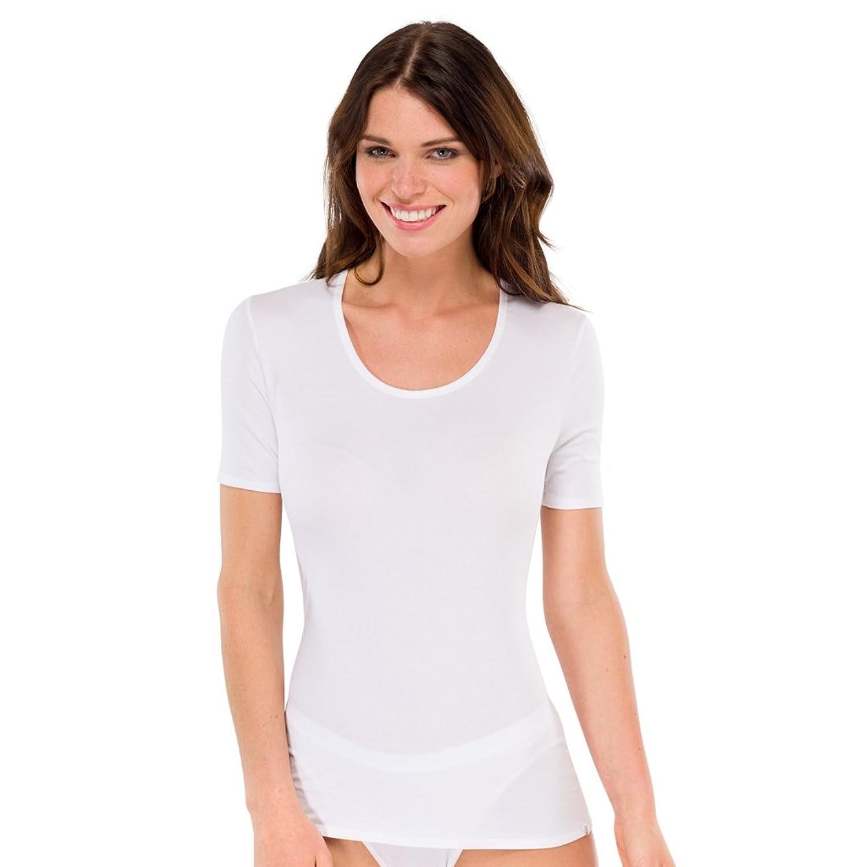Schiesser Damen 95/5 Shirt kurzarm - 144085 - 2er Spar-Pack