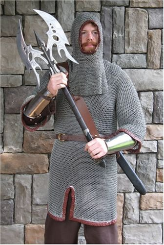 Anodized Aluminum Chainmail Shirt, Chain Mail Armor