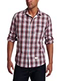 Aviator Men's The Ian Woven Plaid Sport Shirt