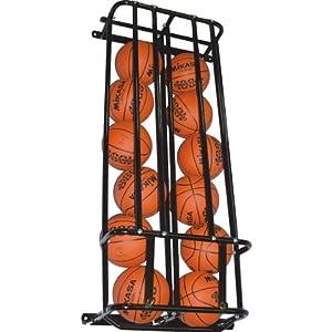 Barbarian Wall Mounted Ball Locker by Barbarian Basketball Systems