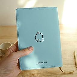 New Molang Diary Ver.3 Undated Planner Journal Scheduler Organizer Agenda Kawaii Cute Rabbit 4.5\