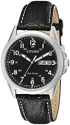 Citizen Men's AW0040-01E Analog Display Japanese Quartz Black Watch