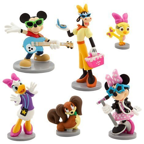 Minnie M Rock Star Figurine Play Set - 1