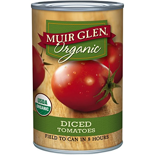 Muir Glen Organic Diced Tomatoes - 14.5 oz (Tomato Diced Can compare prices)