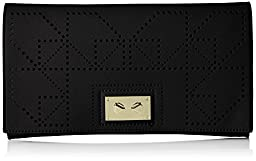 Danielle Nicole Wila Clutch, Black, One Size
