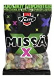 4 x 180g. of Fazer MISSA X Finnish Mix of Salmiak & Fruit Wine Gums Liquorice Candy Candies Sweets Bag
