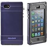 PELICAN (ペリカン) ペリカンケース ProGear Vault シリーズ CE1180 iPhone5 / 5S 防塵・防水・耐衝撃 ケース 【並行輸入品】 黒x紫