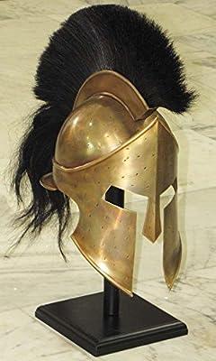 Medieval Spartan Helmet King Leonidas 300 Movie Helmet Replica - Role Play Helm