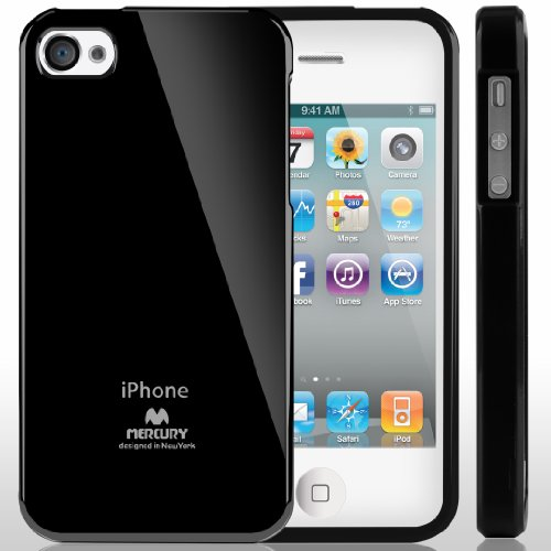 Mercury Flexible Apple iPhone Black