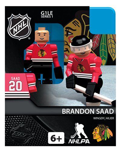 Brandon Saad NHL Chicago Blackhawks Oyo LE Minifigure - 1
