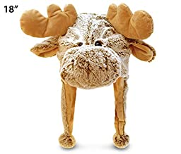 Super-Soft Plush Hat - Moose
