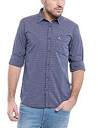 Parx Men's Dark Blue Shirt