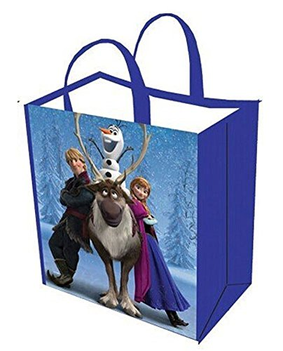 Frozen Reusable Tote Bag - Anna, Kristoff, Sven and Olaf (Frozen Trick Or Treat Bag)